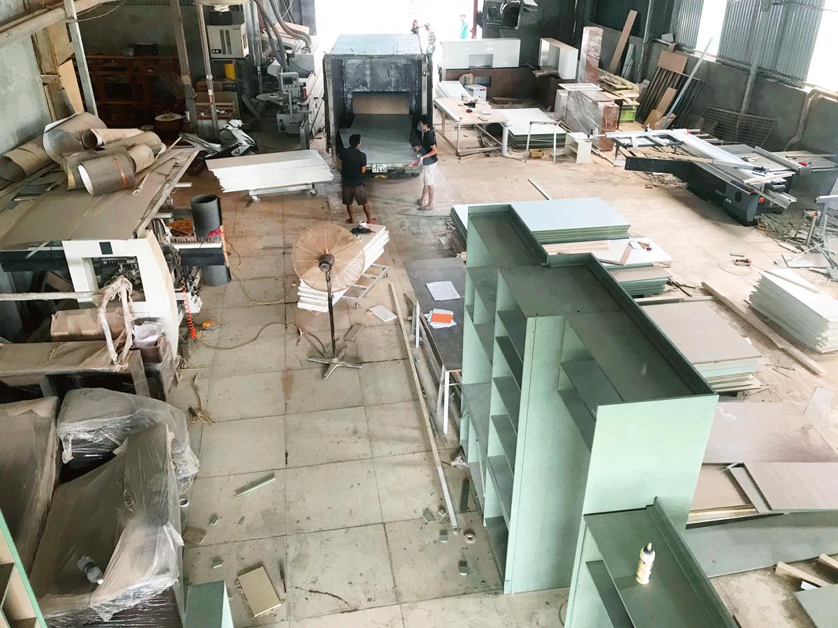 xưởng sản xuất nội thất agoo