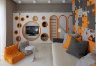 thiết kế phòng ngủ cho bé trai tuổi teen cá tính