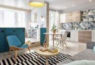 bố trí nội thất cho căn hộ nhỏ