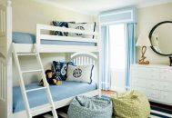 thiết kế phòng ngủ chung cho bé trai và gái