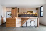 thiết kế phòng bếp đơn giản và hiện đại