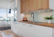thiết kế tủ bếp đẹp cho phòng bếp chung cư nhỏ hẹp