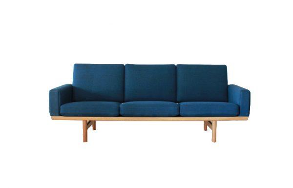 sofa gỗ nỉ getama sf0005