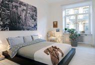 thiết kế nội thất phòng ngủ phong cách scandinavia