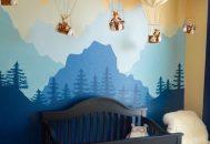 thiết kế phòng ngủ cho trẻ sơ sinh