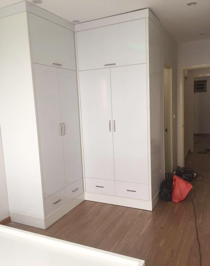 thi công nội thất chung cư 80m2 gỗ công nghiệp