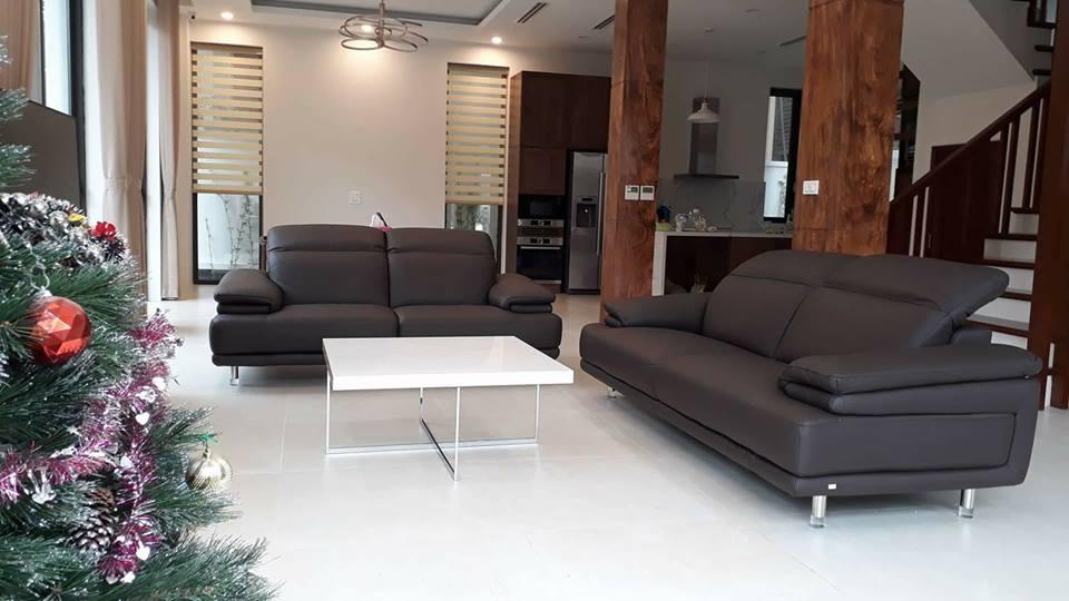 10 mẫu sofa da cao cấp