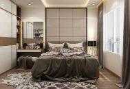14 mẫu phòng ngủ chung cư hiện đại sử dụng gỗ công nghiệp an cường