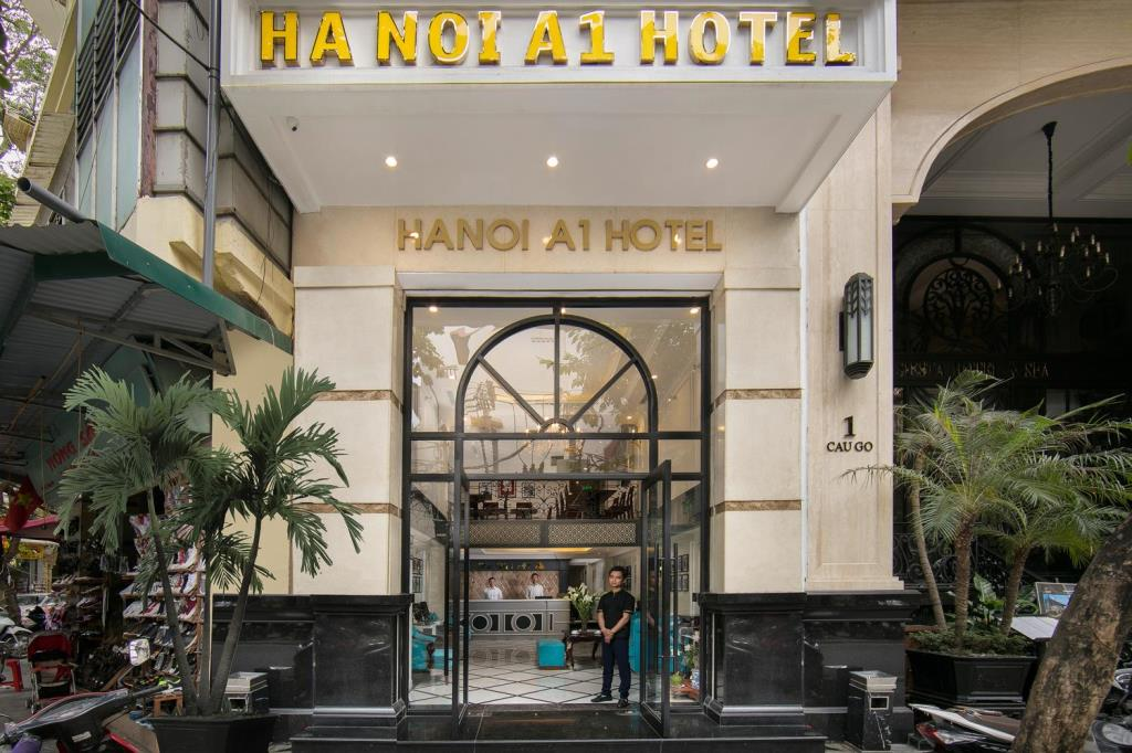thi công nội thất khách sạn a1 hà nội