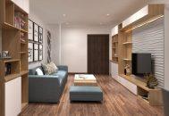thiết kế nội thất chung cư park hill city