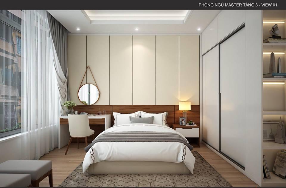 thiết kế nội thất biệt thự 3,5 tầng an khánh hà nội