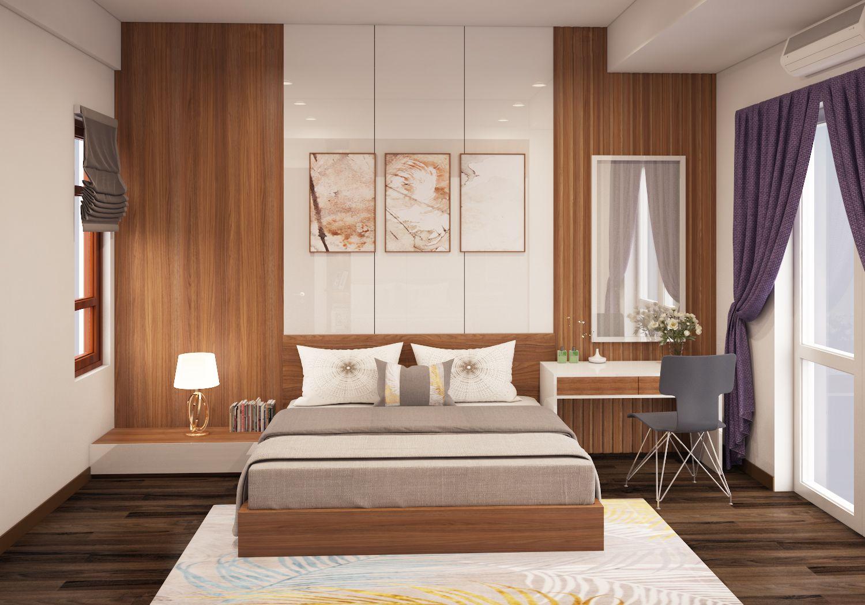 phòng ngủ master tầng ba