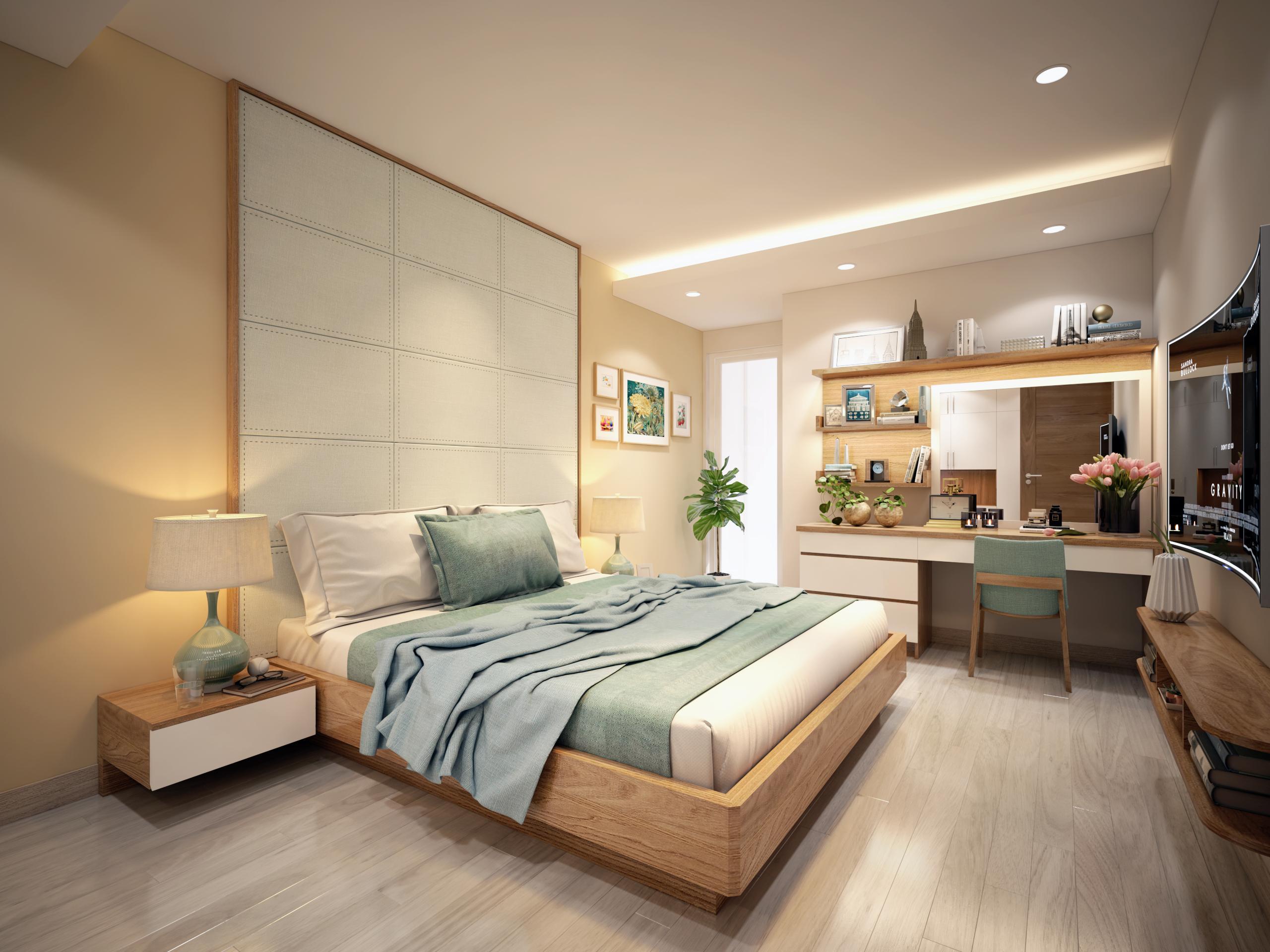 Thiết kế nội thất căn hộ chung cư Mandarin Garden 2 - Nội Thất AGOO